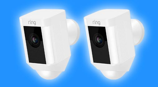 ring spotlight home cctv system